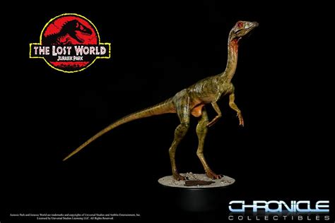 Jurassic Park Collectibles chronicle collectibles the lost world jurassic park compy