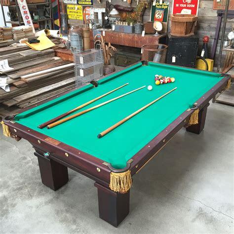 antique brunswick pool tables antique brunswick mikado regulation pool table at the