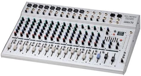 Mixer Audio Tum mua em c蘯ヲn mua 1 mixer t盻ォ 8 苟蘯ソn 12 line