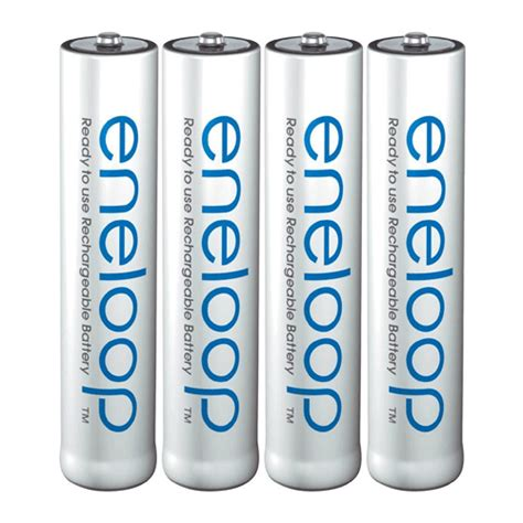 sanyo eneloop rechargeable aaa hr03 mn2400 ni mh