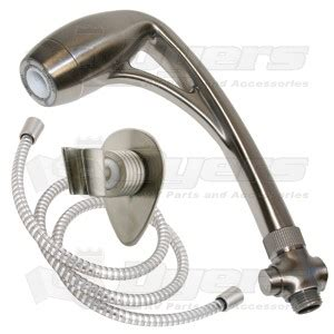 Oxygenics Rv Shower by Oxygenics Brushed Nickel Handheld Bodyspa Showerhead Kit