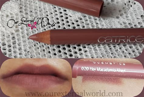 Lip Liner Catrice catrice longlasting lip pencil 020 hey macadamia ahey review swatch