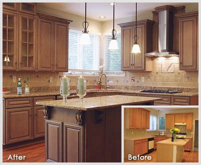 Kitchen Cabinets Cost Per Linear Foot Kitchen Appealing Kitchen Cabinet Refacing Diy Before After Cabinet Refacing Kitchen Cabinet