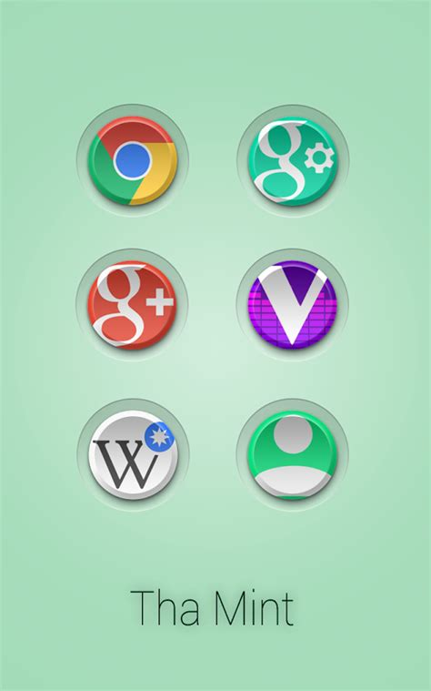 mint apk tha mint icon pack v3 5 apk portables 2 0