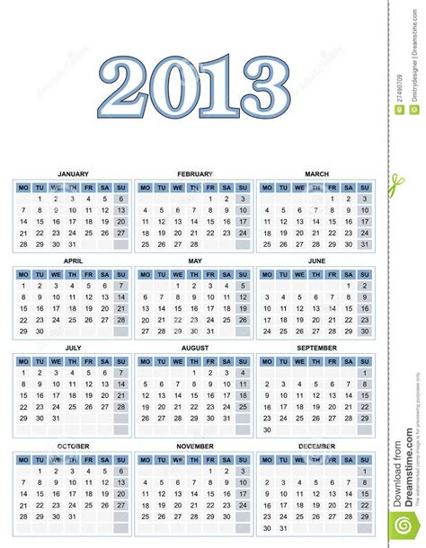 european calendar royalty free stock images image 27490709