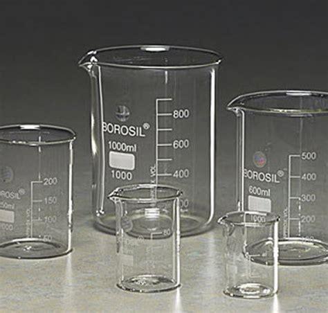 Beaker Glass Low Form Cap 25 Ml Duran Gelas Piala beaker glass