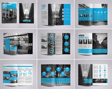 40 Best Corporate Indesign Annual Report Templates Web Graphic Design Bashooka Create Indesign Template