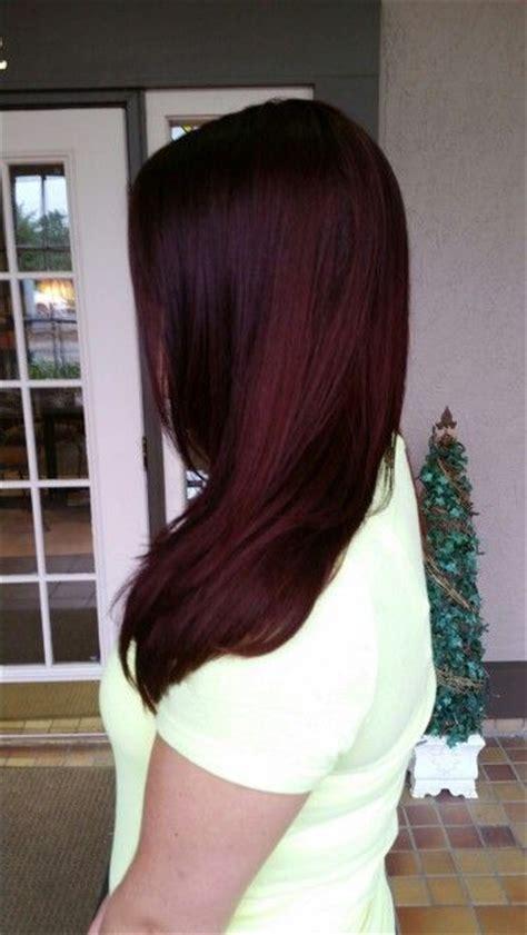 bold black cherry hair ideas  embrace  fall