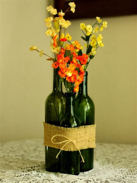 Wine Vase by Ways To Reuse Glass Bottles 26 Ideas For Wine Bottles