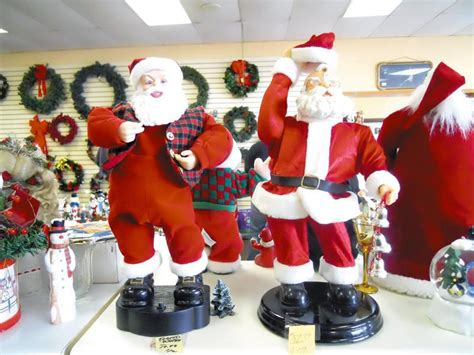 consider donating old christmas decorations to charity