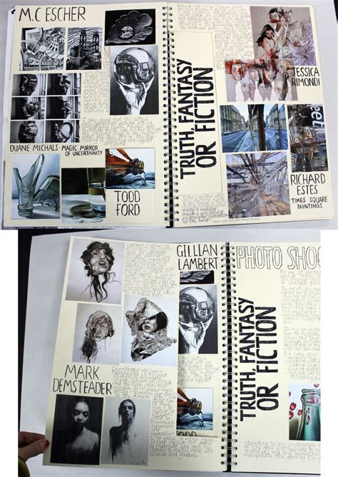 photography sketchbook layout ideas art theme ideas 25 trending art diary ideas on pinterest