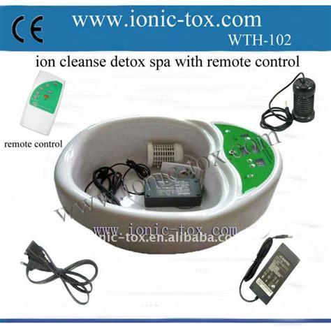 Ion Detox Foot Spa Manual by Portable Hydrosana Bio Detox Ionic Detox Foot Spa Wth 102