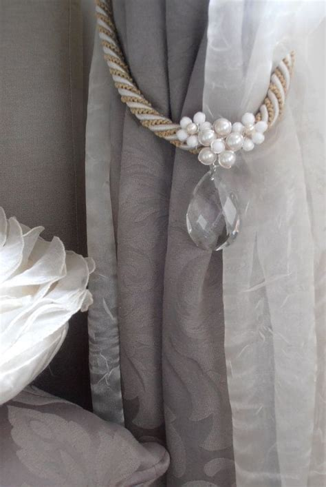 drapery tie backs ideas 1000 ideas about curtain ties on pinterest curtain tie