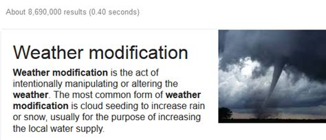 Weather Modification Definition weather modification climate change or geo engineering
