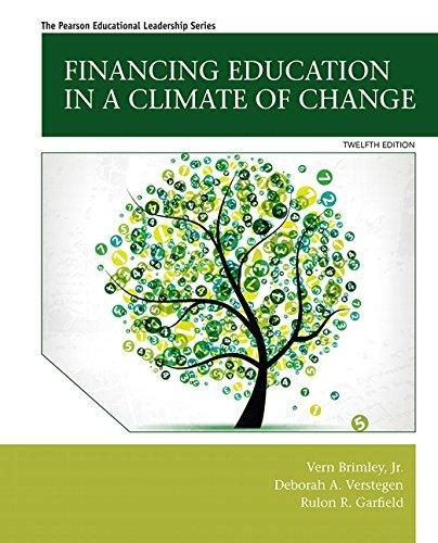 isbn 9780133919783 financing education in a climate of