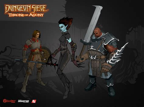 similar to dungeon siege dungeon siege throne of agony bomb