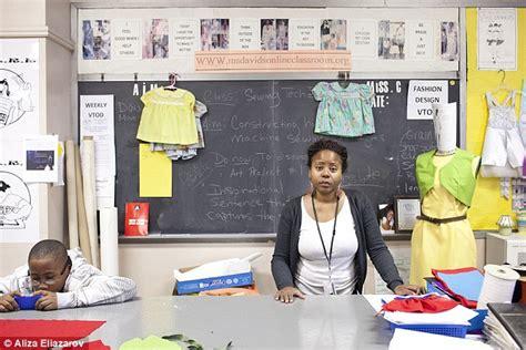 Fashion Design School At Home Aliza Eliazarov S Portrait Series Shows Nyc Teachers In