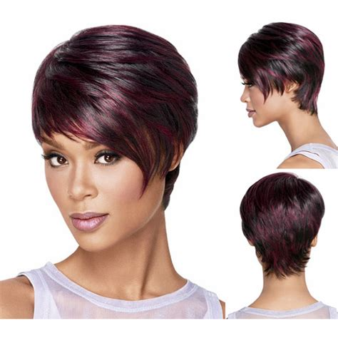 hair products for pixie cut medusa hair products red afro short pixie cut style wig