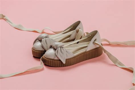 Bow Creepers Sandals Brown fenty x rihanna quot bow creeper quot sandal now available
