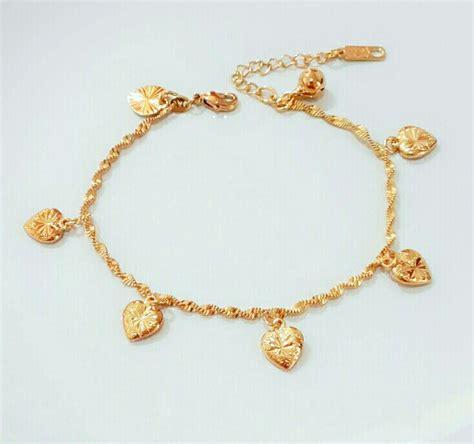 Gelang Tangan Xuping 1 jual gelang tangan rantai xuping lapis emas 88 sanflower