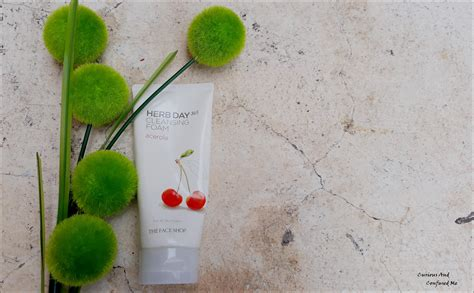 the shop herb day 365 cleansing foam 170ml acerola