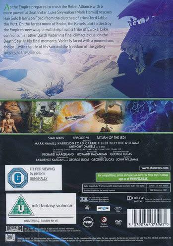 se filmer star wars episode vi return of the jedi gratis star wars episode vi return of the jedi import dvd