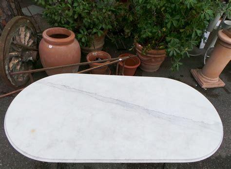 tavolo piano marmo tavolo esterno piano marmo bianco