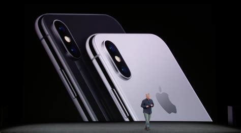 apple x color apple unveils new all screen iphone x with no home button