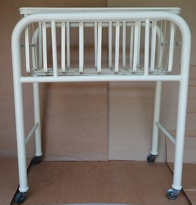 Hospital Baby Crib Vintage Iron Hospital Baby Crib Bed From Mercy Hospital Authent