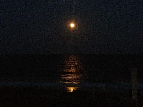 moon over ocean   On Bended Knee