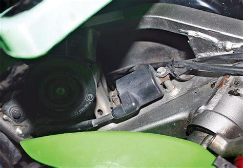 Komstir Klx 150 cegah klx 150 brebet di musim hujan dengan mengamankan soket koil