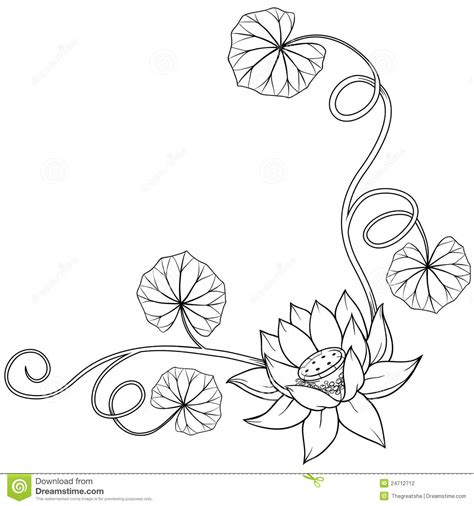 black and white coloring pages of designs free coloring pages of corner design