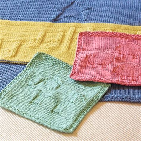 washcloth knitting patterns free we like knitting animal washcloths free pattern