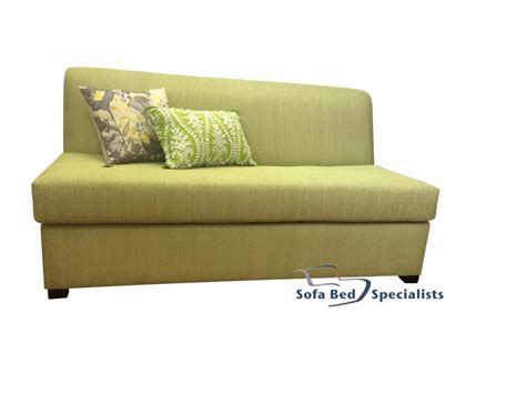 single futon sofa bed armless sofabed with innerspring mattress sofa bed