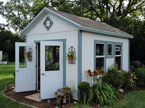 Backyard Sheds Designs by Stupefying Potting Shed Decorating Ideas