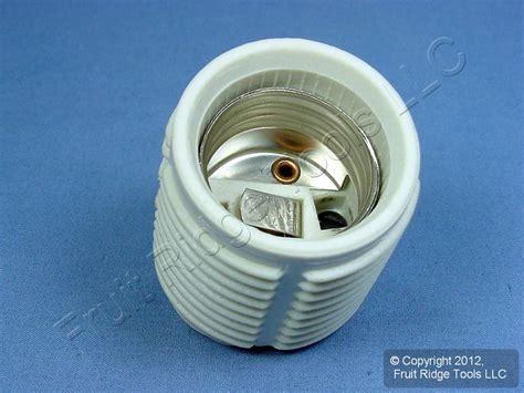 leviton threaded porcelain l holder light socket ebay