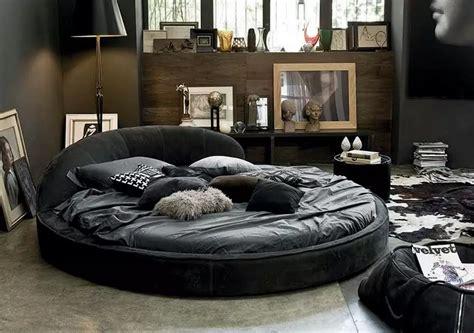Decor Ideas For Small Bedrooms circle bed in unique bedroom interior design small