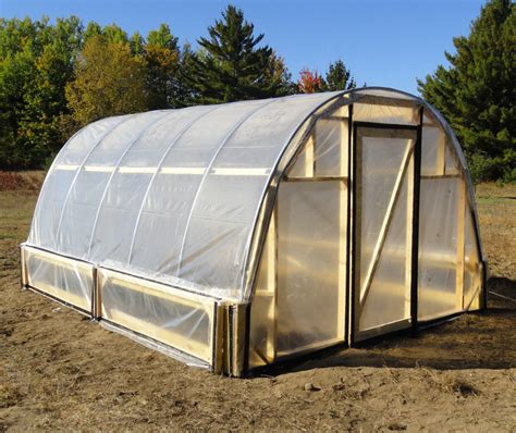 greenhouse hoop house plans easy to do ebay