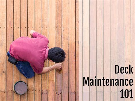 deck maintenance  deckpro powerwash company