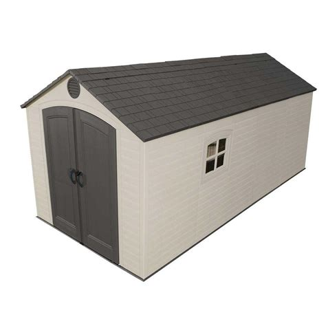 15 X 7 Shed Lifetime 8 Ft X 15 Ft Storage Shed 60075 The Home Depot