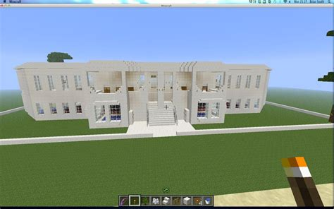 minecraft quartz house quartz colonial house minecraft project