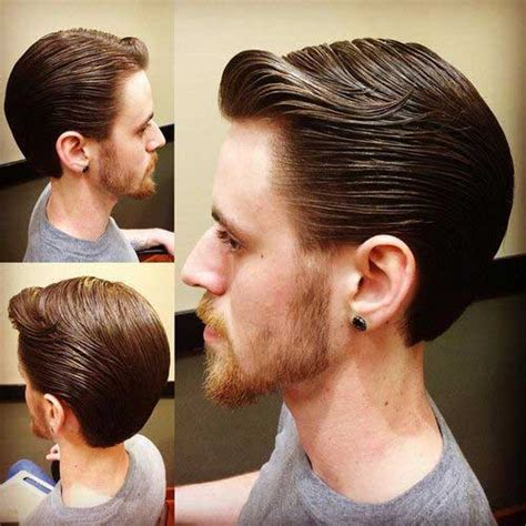 back images of men s haircuts 15 slick back hair men mens hairstyles 2018