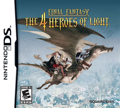 the 4 heroes of light u s import