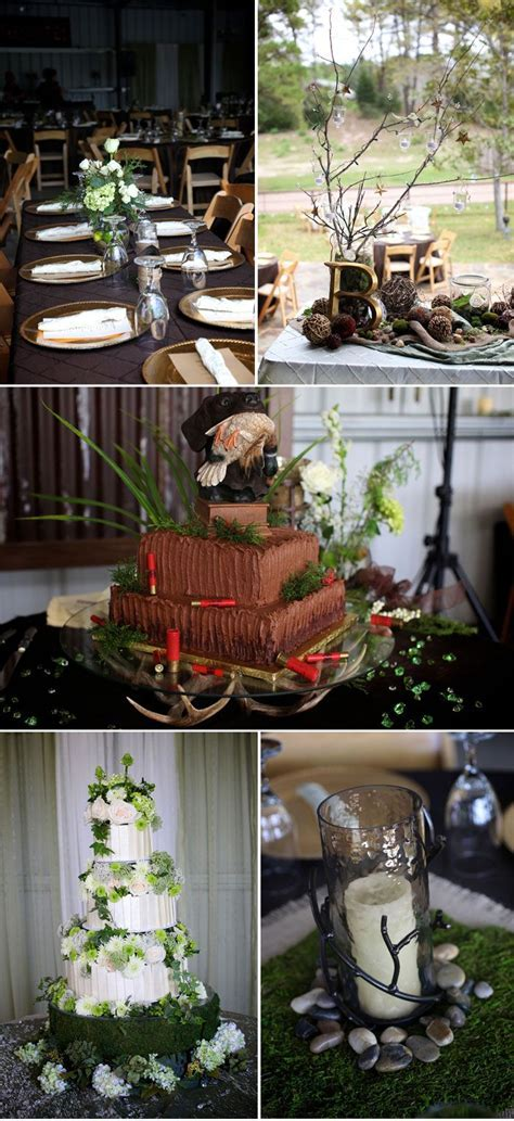 Camo Wedding Decorations   Mossy Oak Camo Wedding