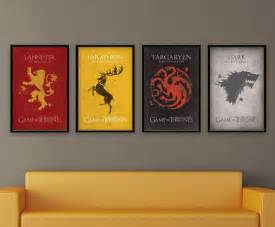 Game Of Thrones Decor 24 Game Of Thrones Prints To Decorate Your Wall