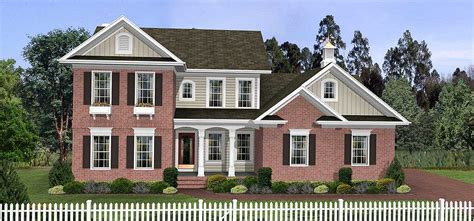 Traditional House Plans Two Story by Traditional Two Story Home Plan 2063ga Architectural