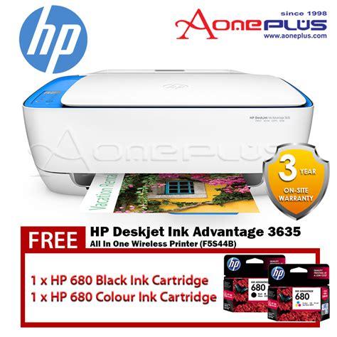 Cartridge Hp 680 Black Original Ink Advantage Cartridge Berkualitas hp deskjet ink advantage 3635 all in one wireless printer f5s44b hp 680 black hp 680