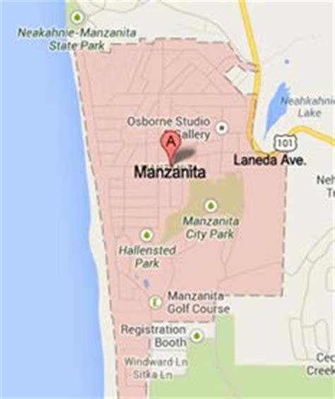 map of manzanita oregon manzanita rockaway oregon coast tour