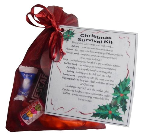 christmas grinch survival kit survival kit great filler or secret santa gift co uk kitchen