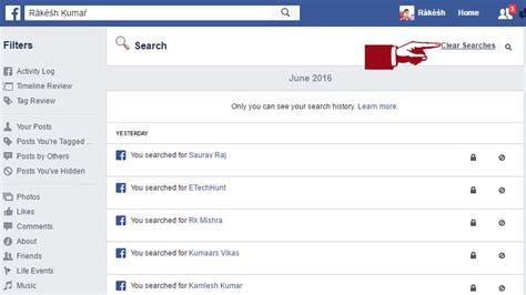 Can See Your Search History 2 Ways To Clear Search History Etechhunt